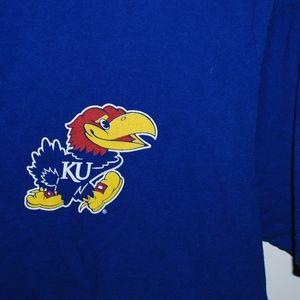 University of Kansas Jayhawks Tee Size Large